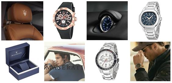 Maserati horloges