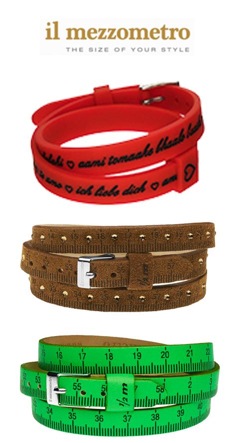 Mezzometro armbanden